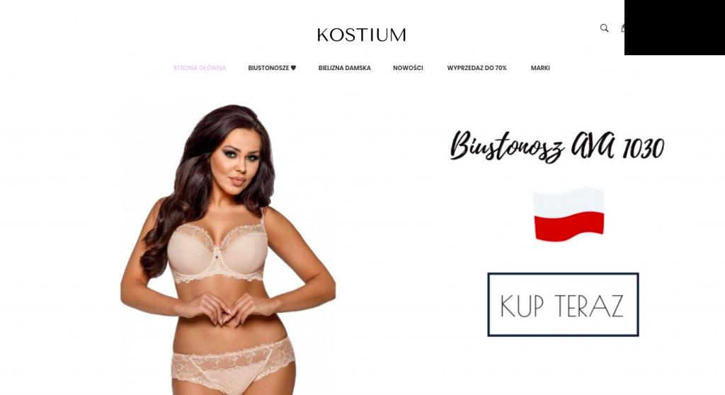 Sklep z bielizną damską Kostium.com